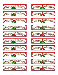 freereturn free return address labels download now holiday template example