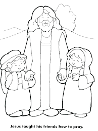 Child Coloring Page Lively Prayer Coloring Page Prayer Coloring