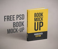 Book Cover Design Free Download Realistic Book Cover Free Psd Mockup