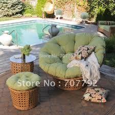 Papasan Chair In Living Room Aliexpresscom Buy All Weather Wicker Outdoor Papasan Chair Set
