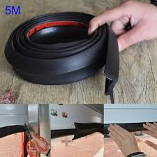 5m garage door bottom weather stripping rubber seal strip replacement door bottom seal m25