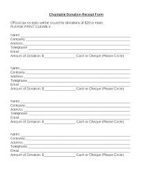 charitable contribution receipt letter church tax donation receipt template non profit charitable