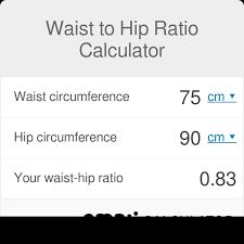 Calculate Your Waist Hip Ratio Omni Calculator