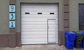 best garage doors with man door