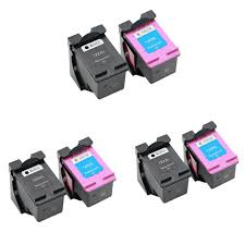 6pcs cartridge for hp 122xl ink cartridge for hp 122 for hp deskjet 1510 1050a 2050a