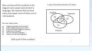 Venn Diagram Math Worksheets Math Problems Using Venn Diagram Stnicholaseriecounty Com