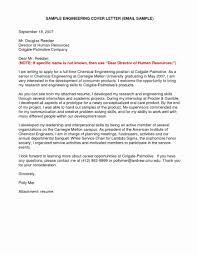 Cover Letter Juniorork Engineer Resume Sample Fresh New Senior Doc