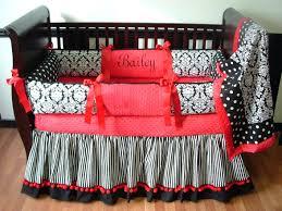 black and pink crib bedding baby girl zebra sets print
