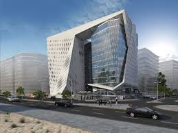 contemporary office buildings. Al Maadi Office Building By Hesham Essawy. #Cairo #Egypt Contemporary Buildings A