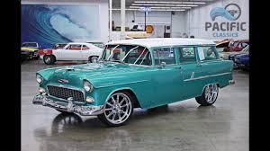 1955 Chevrolet 210 4 door Wagon - YouTube
