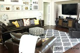 rugs for dark brown sofa couch and carpet blue rug with couches idea 4 that go best brown sofa decor ideas on dark