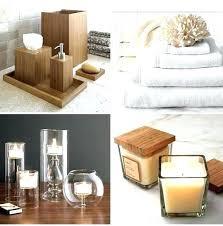 bamboo bathroom accessories spa bathroom set bamboo bathroom set spa photo 1 bath accessories bamboo bathroom accessories