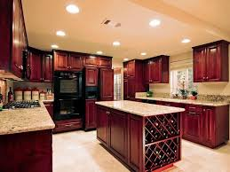 83 examples preferable awesome cherry wood kitchen cabinets home depot brown oak wooden cabinet beige marble countertop black metal microwave oven shocking