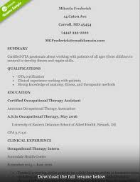 Therapist Resume Luxury Occupational Therapy Resume Examples Best Of