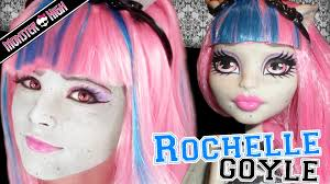 roce goyle monster high doll costume makeup tutorial for cosplay or you