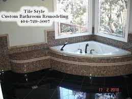 bathroom remodeling atlanta ga. Tile Installation Atlanta Custom Bathroom Remodel  Georgia Remodeling Ga