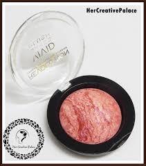 makeup revolution baked blush loved me the best