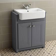 bathroom storage furniture. 830mm Grey Basin Vanity Cabinet Bathroom Storage Furniture Deep Sink Cupboard Unit