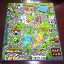 nursery rugs neutral kids play with roads baby carpets for crawling boys road area rug coffee tables ikea lekplats cars pink large size of race car mat toy