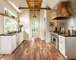 country kitchen wood floor