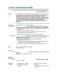 Registered Nurse Resume Examples Sarahepps Com