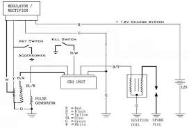 below is a schematic of a typical scooter electrical set up as far below is a schematic of a typical scooter electrical set up as far as the stator cdi rectifier regulator go along the ot