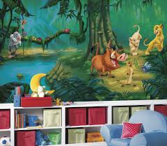 Lion King Wallpaper For Bedroom The Lion King Xl Wallpaper Mural 105 X 6 Wall Sticker Shop