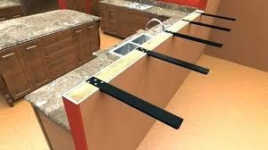 decorative granite countertop support brackets