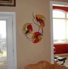 custom made blown glasetal wall art