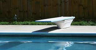 residential swimming pools equipped with a diving board minimum water envelope to prevent cervical spinal cord injuries resulting from diving from a
