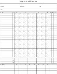 Baseball Game Scorecard Baseballscorecard Magdalene Project Org