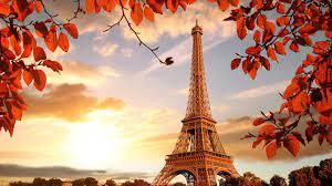 1920x1080 Eiffel Tower Autumn Season 4k ...