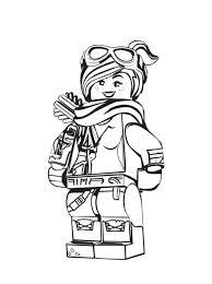 Kids N Fun Kleurplaat Lego Movie 2 Lucy 2