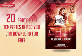 20 Party Flyer Templates In Psd 2018 You Can Download For