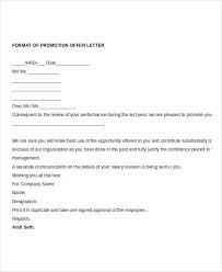 Promotion Offer Letter Template - 7+Free Word Format Download ...