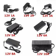 5V 24V 12V Lighting Transformer AC 110V 220V to 12V Power ...
