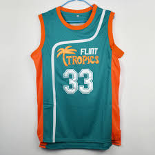 Basketball Jersey Design White Green Custom Green White 7 11 33 Basketball Jersey For Men Buy Cheap Mens Semi Pro Movie Flint Tropics 7 Coffee Black Wholesale 33 Jackie Moon 69