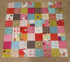 Charm Pack Baby Quilt & Charm-pack baby quilt tutorial Adamdwight.com
