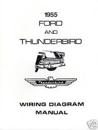 1955 ford thunderbird wiring diagram manual image is loading 1955 ford thunderbird wiring diagram manual