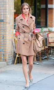 while out lunch nyc olivia palermo layered up chic trench jpg