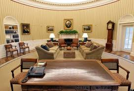 oval office desks. Decor Office Waiting Obama Oval Desk Desks Images Oriental Obama\u0027s Makeover (he Added The Striped Wallpaper