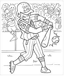 Free Sports Coloring Pages Printable Free Printable Sports Coloring