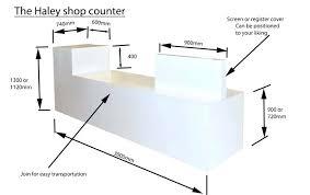 desk s desk s counter retail s counter reception desk depth reception desk sizes reception
