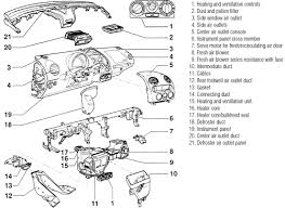 repair guides heater core removal installation 2 autozone com exploded view of the instrument panel crossmember and related components new beetle