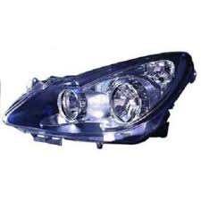 Headlight Left Vauxhall Corsa D Built 06 10 35 Door Black Valeo H7 H1 Frx Ebay