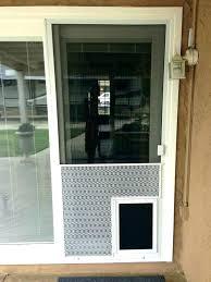 sliding screen door handle sliding screen door exterior door with dog door built in dog doors sliding screen door
