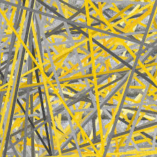 yellow grey wall art throughout newest connection yellow and gray wall art paintinglourry legarde