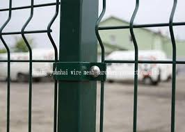 Decorative Galvanised Welded Wire Mesh Sheets Pure White 3D Mesh