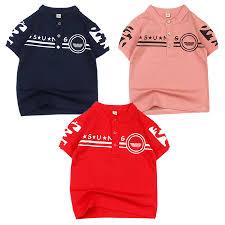 Áo thun cổ trụ thời trang in hoa văn cho bé trai 0.5-12 tuổi từ 10 đến 36  kg 03967-03975