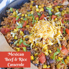 ground beef and rice recipes.  Beef Mexican Beef And Rice Casserole Is An Easy Weeknight Recipe Using Ground  Beef Taco Seasoning Other Ingredients For A One Dish Meal And Ground Recipes